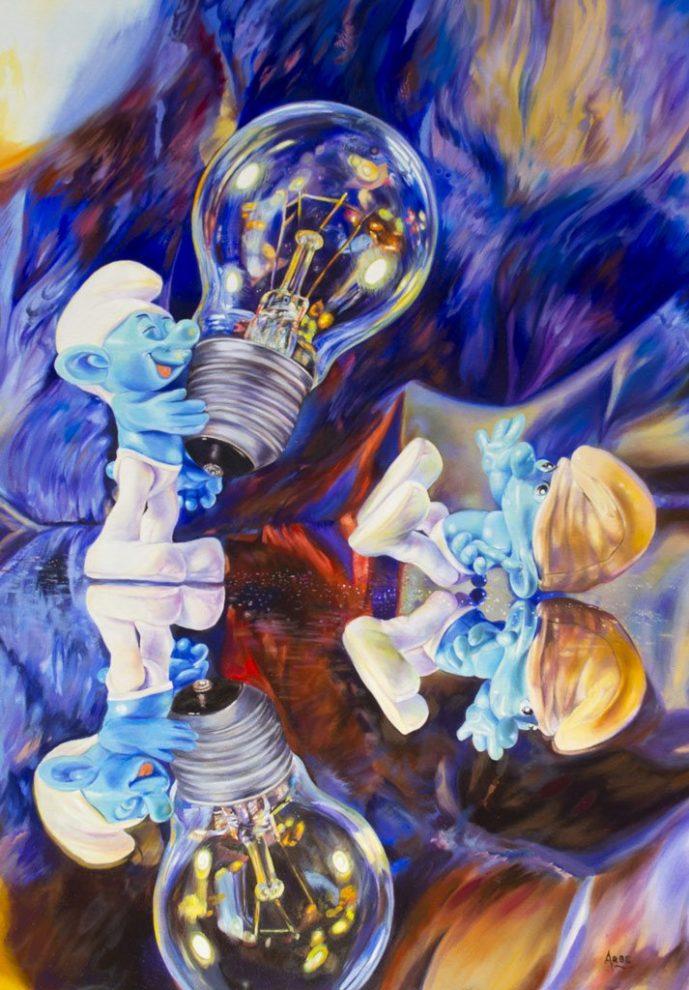 Bernardo ariatta pittore iperrealista mondo incantato
