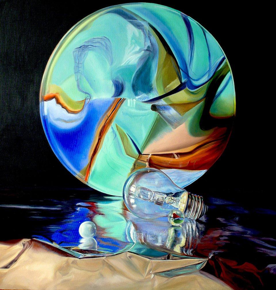 Bernardo ariatta pittore iperrealista sinfonia di colori