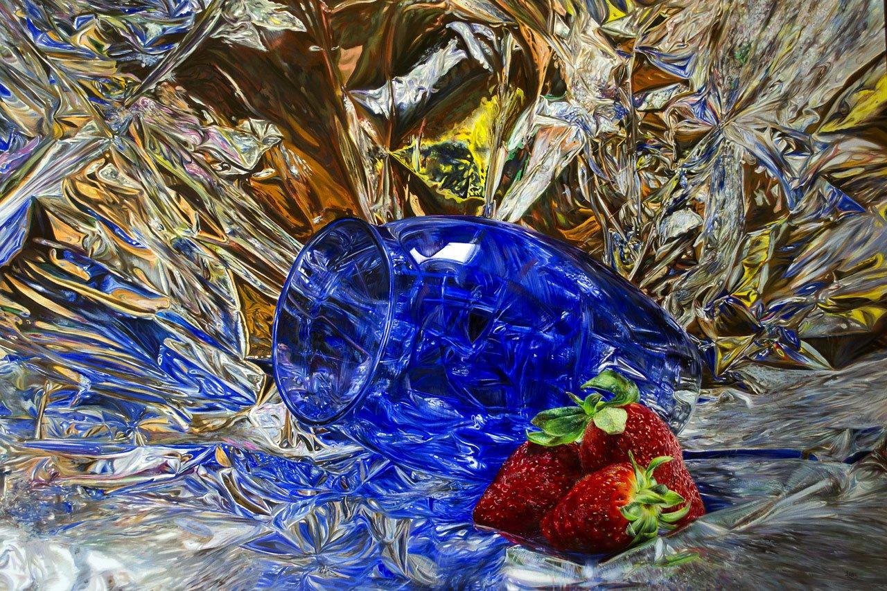 pittore iperrealista bernardo ariatta vibrazioni