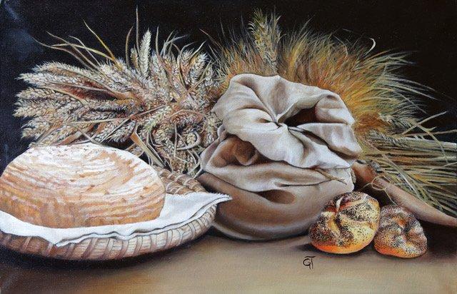 corsi di pittura Germana Turrato il biondo del grano