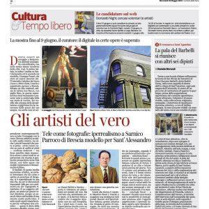 Corriere della Sera-maestri dell'iperrealismo italiano